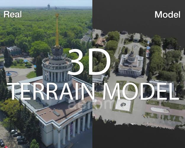 3D-architectural modeling